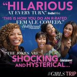 Youuu won't be disappointed... See #GirlsTrip! This Friday, July 21st :)