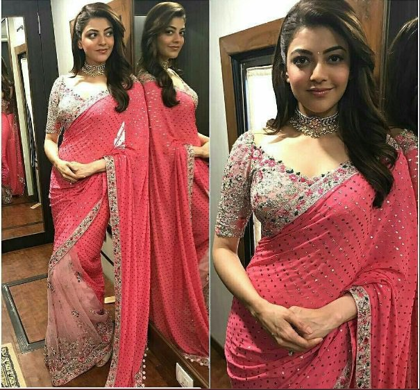 We woke up to this pic of @MsKajalAggarwal on the set of #MLA, looking like a million bucks. The stuff #WowWednesdays are made of! <br>http://pic.twitter.com/cUyf0OTJeZ