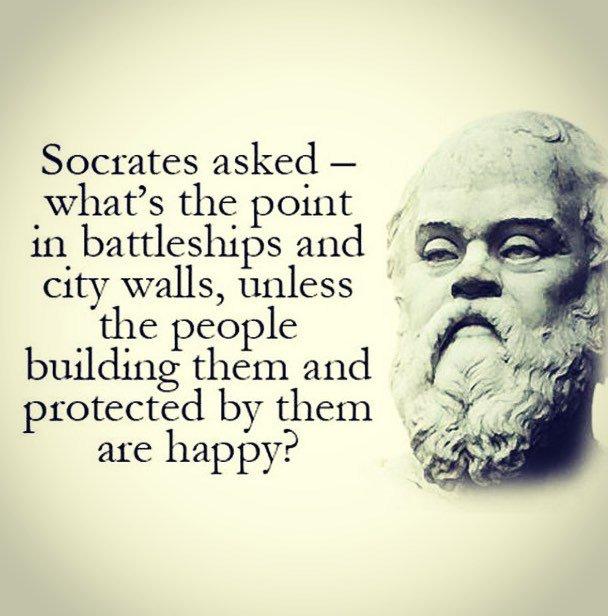 socrates happiness