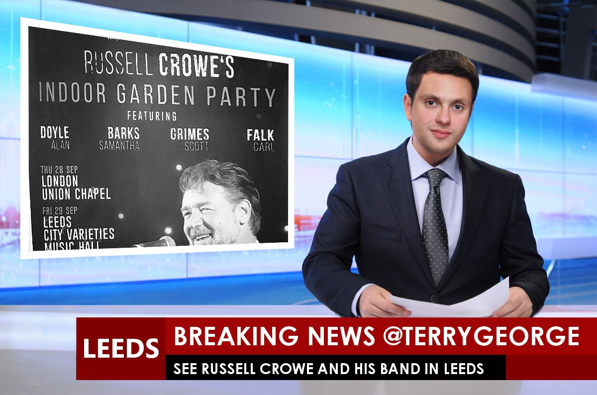 RT @no1leedsbutcher: @TerryGeorge For your chance to see Russell Crowe and a CD RT https://t.co/5A8Gtl7uTG