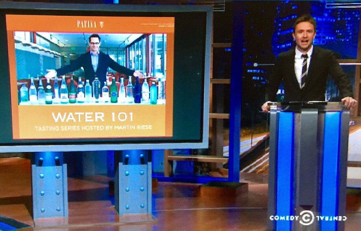 Thank you @hardwick @midnight  @ComedyCentral for 600 episodes, I will always have a glass of water waiting for you #watersommelier <br>http://pic.twitter.com/nXF3gnzfDD