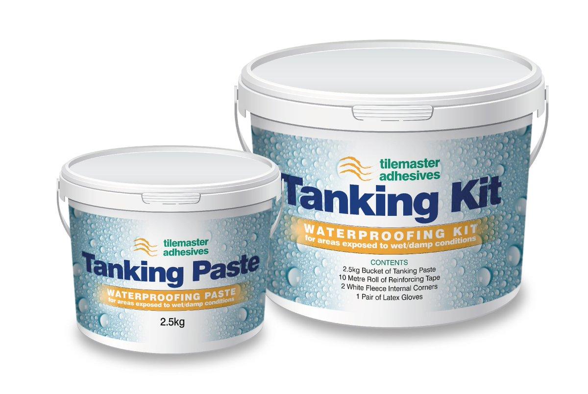 Tilemaster Adhesives On Twitter The Tilemaster Tanking Kit - Fast drying tile adhesive