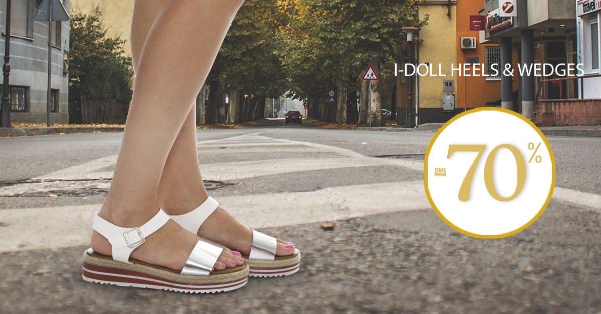 Εντυπωσιακά παπούτσια από την συλλογή I-Doll Heels & Wedges για άνεση και στυλ σε κάθε σας βήμα! SHOP NOW --> https://t.co/FK4mqnDP00 https://t.co/z3ElQHDY5K