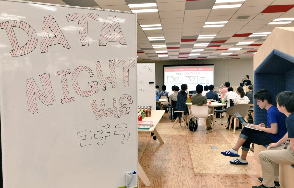 Yahoo JAPAN On Twitter Data Night Vol6 DS Vol06
