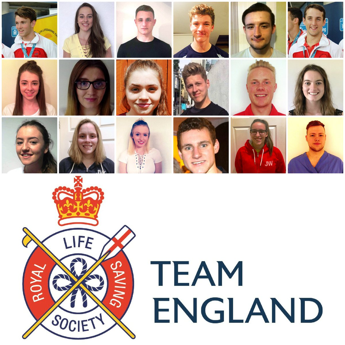 In 22 days' time, RLSS UK Team England will be starting day 1 of the competition at the Commonwealth Championships!