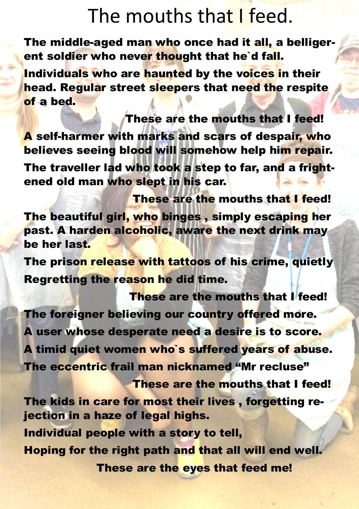 Mel has written a poem about her work with YRP #24hoursatYRP #Woking #Homeless #heartbreaking https://t.co/CNU4NnxYiA