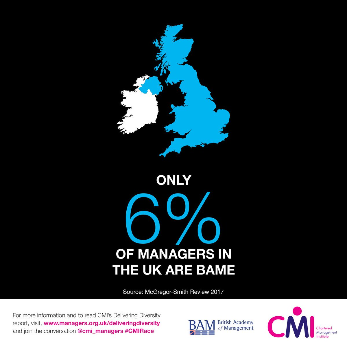 #BAME people are under-represented in #management roles. It's time to take action. #CMIRace  https://t.co/KCKyLmtksN https://t.co/E5VKFXGEHw