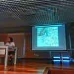 #ArqueoBorn17 En aquests moments en Francesc Caballé fa una xerrada a les alumnes de @GH_UB que participen a l'excavació d' @ElBornCCM