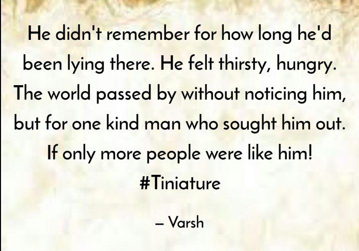 @gayatri_gadre @romspeaks @foodietweeter @Ishieta @Anupriya_Guptaa @sujitrukhsat @Mayuri6 @nehatambe @twinklingtina @NatsCosmicrain #TinyStory #Tiniature #tinystories #microstories #tinytales #amwriting #BeingAuthor https://t.co/gvVFARNOxm