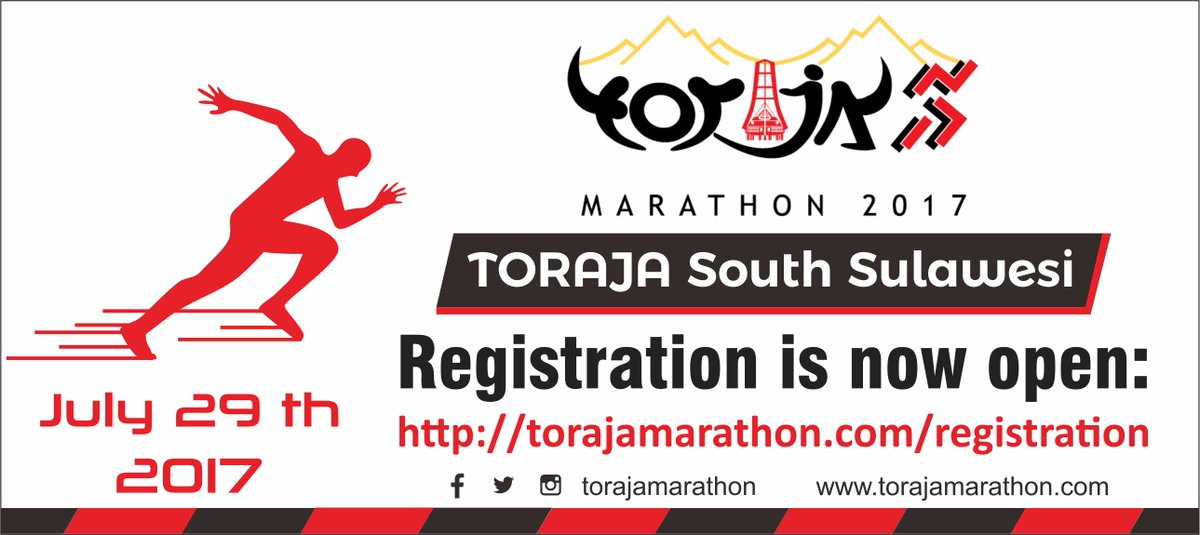Toraja Marathon • 2017