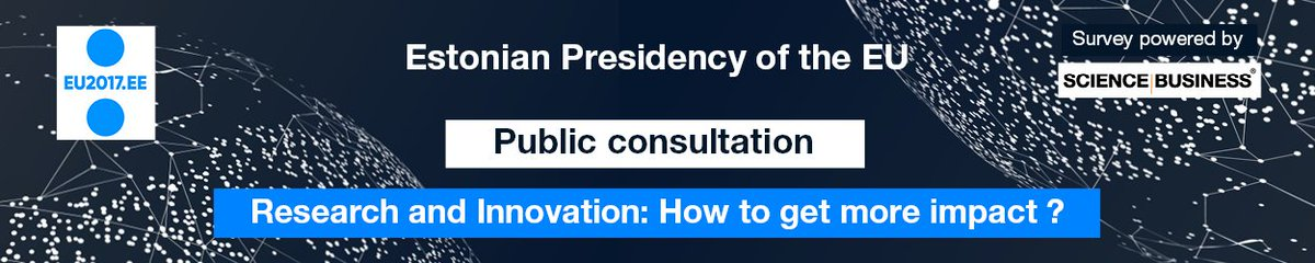 &quot; #Research &amp; #Innovation  - How to get more #Impact &quot; #PublicConsultation #ResearchImpact #EU Have your say click &gt;  http:// goo.gl/LkmdPR  &nbsp;  <br>http://pic.twitter.com/wSgS5fGhDj