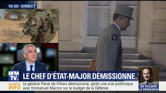 DIRECT. #DeVilliers Aucune réaction de la ministre de la Défense: 'j'ai presque envie de lancer une alerte-enlèvement' dit @JeudyBruno