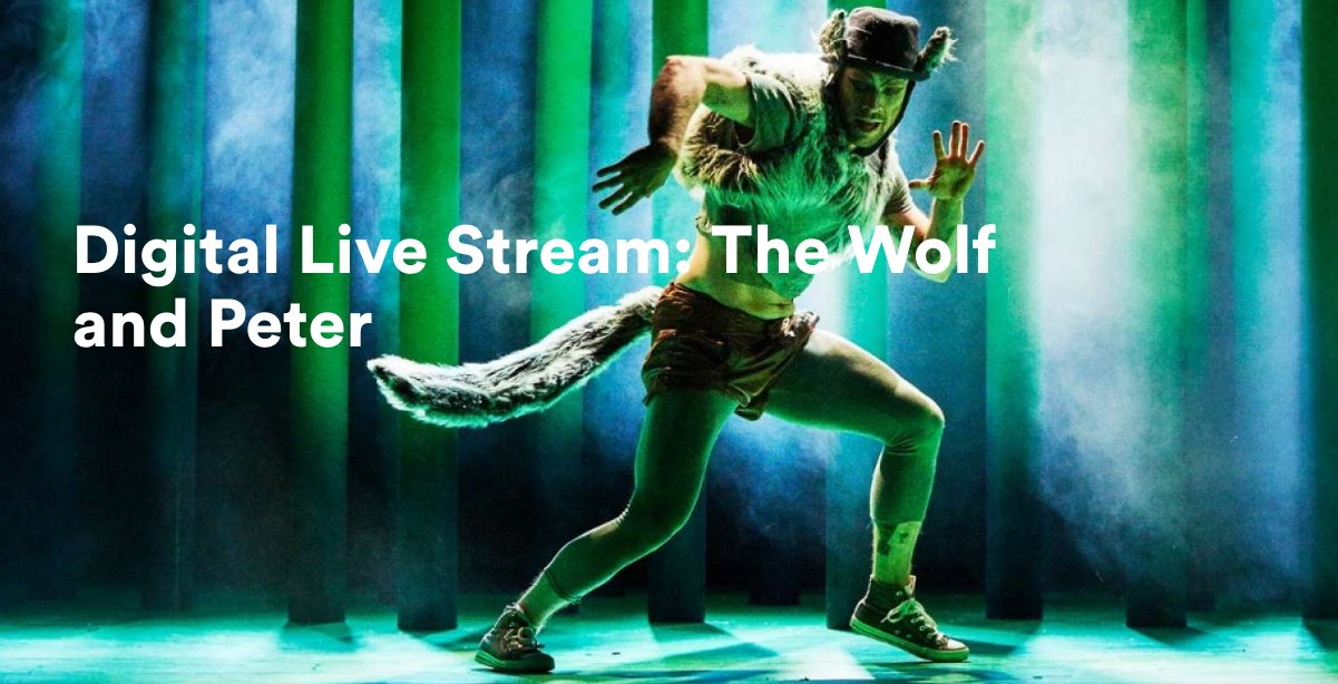 On 20 July @SydOperaHouse will Live Stream #WolfandPeter to 21 remote & rural schools in NSW  | @culture_ireland | https://t.co/3evPpXDQYa https://t.co/g08uFj8lN3