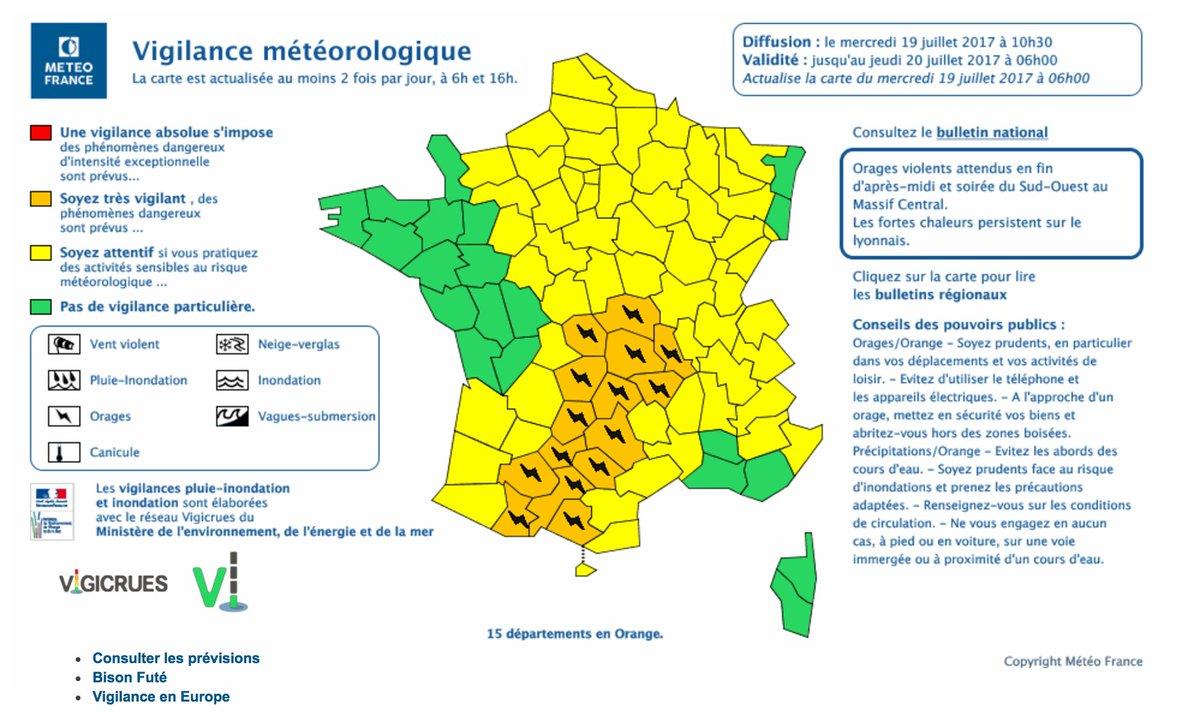 Meteofrance Ville La Grand