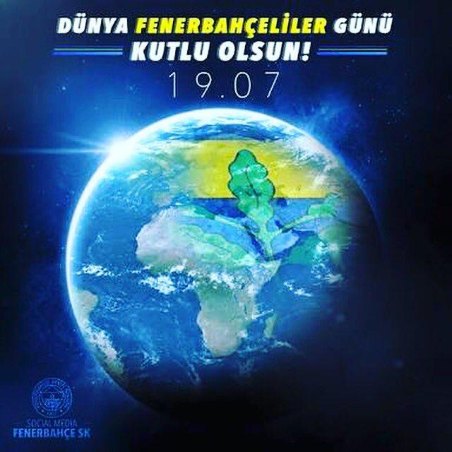 Dünya Fenerbahçe'liler günümüz kutlu ols...