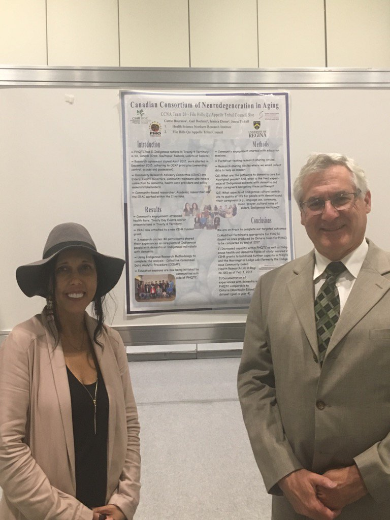 Drs Carrie Bourassa and Howard Chertkow discuss Indigenous health and dementia #AAIC2017 @AlzCanada @ccna_ccnv<br>http://pic.twitter.com/O3QSBl7EMu