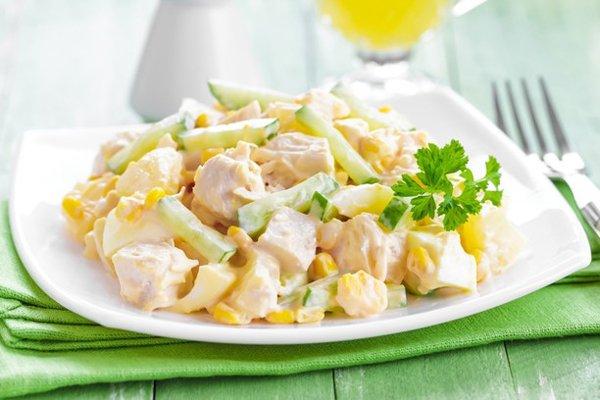 Вкусные салаты рецепты