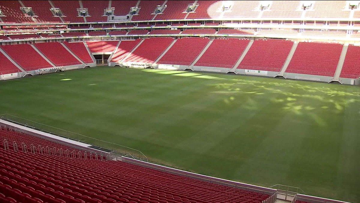 Conta de água do estádio Mané Garrincha, em Brasília sobe 5.959% e passa de R$2 milhões: https://t.co/1wWnNMEsQv
