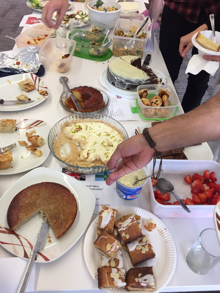 Awesome display of homemade international dishes for the @uniprot @emblebi Progress Review #scienceisglobal <br>http://pic.twitter.com/eI6Nddu5sf