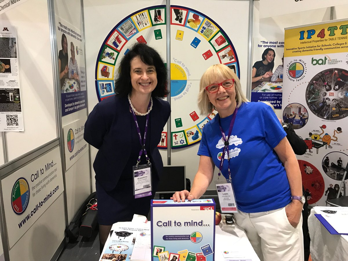 #AAIC2017 great support from lovely and influential people from around the world.@AlzheimersShow @NAPAlivinglife @alzheimerssoc<br>http://pic.twitter.com/cRx59JALUi &ndash; bij ExCel London