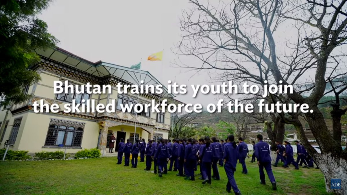 #DidYouKnow that @ADB_HQ is providing support to scale up efforts to enhance Bhutan&#39;s #vocational #education sector?  http:// bit.ly/2tpuxz1  &nbsp;  <br>http://pic.twitter.com/Cpea6GrZaW