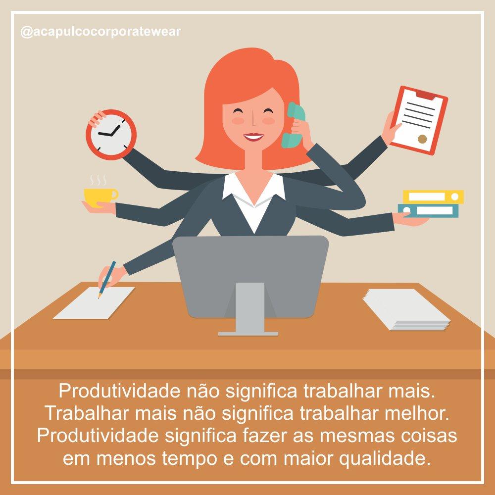 Acapulco Corporate Twitter Da Produtividade Não Significa