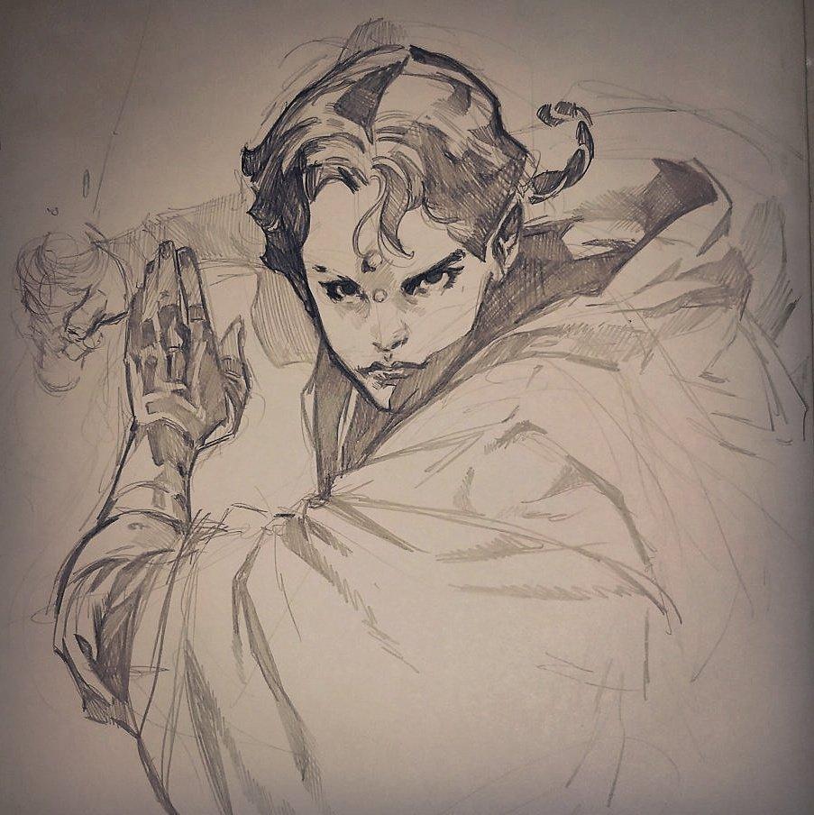 Another #blankcover #WIP,  with #DepaBillaba.  #starwars #starwarsrebels #marvel #pepelarraz #originalart #comics #pencil  #bestjedi<br>http://pic.twitter.com/uL2D5hyx0S