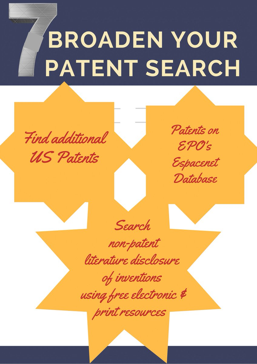 Patent filling steps  step 7  Research Broadening #grantwriting #patents #trademarks #entrepreneurship#intellectualproperty#law#copyright<br>http://pic.twitter.com/kwQASPvy0O