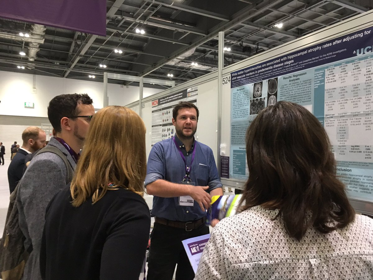 @hughp1 presenting amazing work on the independent relationship of vascular markers on atrophy @ARUKnews #AAIC2017 <br>http://pic.twitter.com/4z5yIccorx