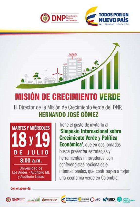 En minutos, segundo día del Simposio #CrecimientoVerde y Política Económica https://t.co/eWzuKWGB7T #EnVivo https://t.co/kFFJ2ZGwiu