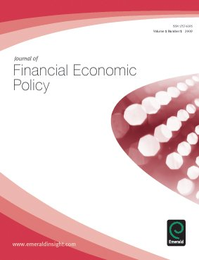 Journal of Financial Economic Policy for first time accepted into Scopus with #CiteScore 0.09  http:// bit.ly/2tbSB7g  &nbsp;  <br>http://pic.twitter.com/8jMdwgdE1G