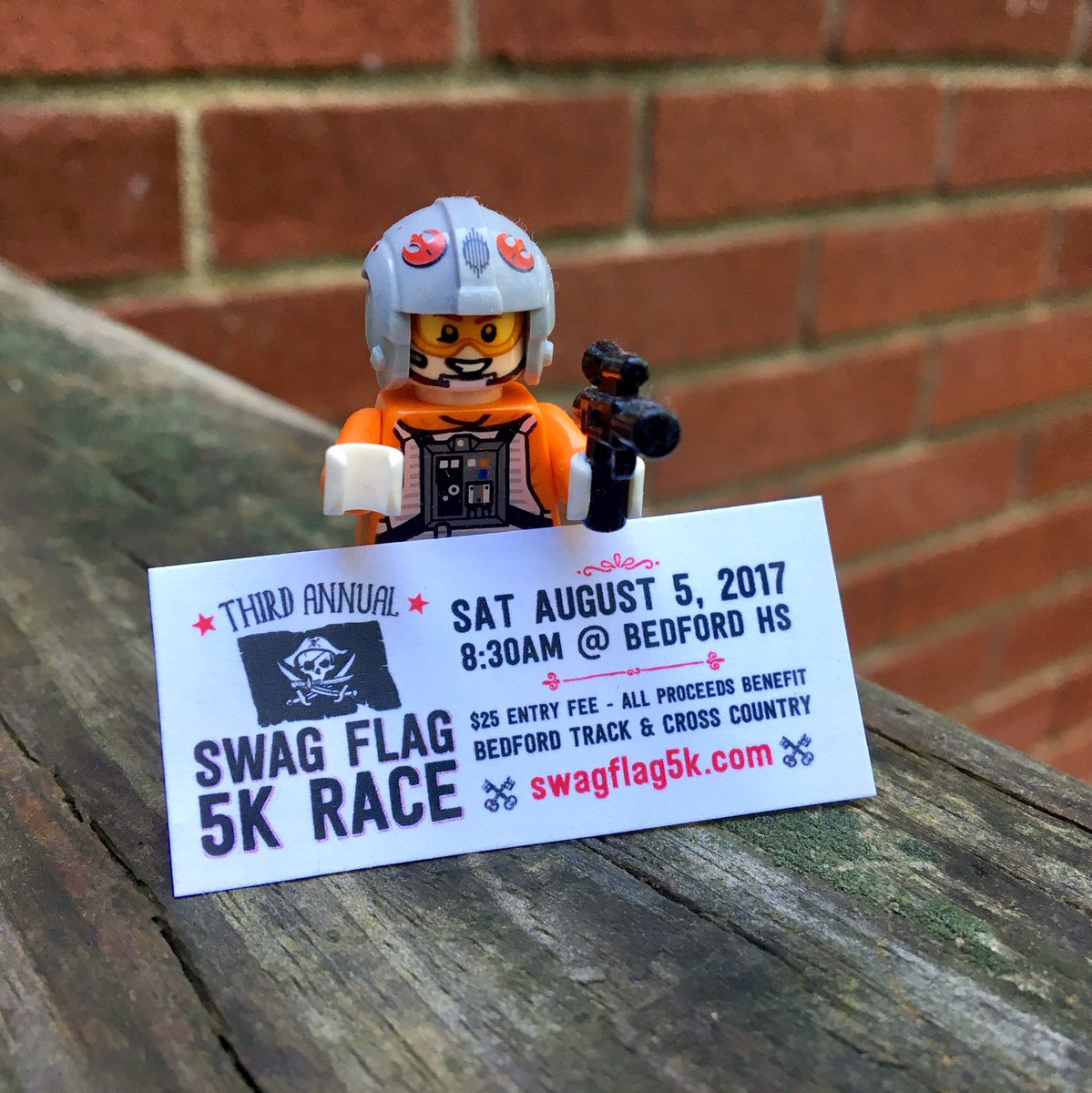 You&#39;ll have a blast at the #swagflag5k Aug 5th at Bedford HS @TheRealSwagFlag #5Km #roadrace<br>http://pic.twitter.com/DdEcP18VEJ