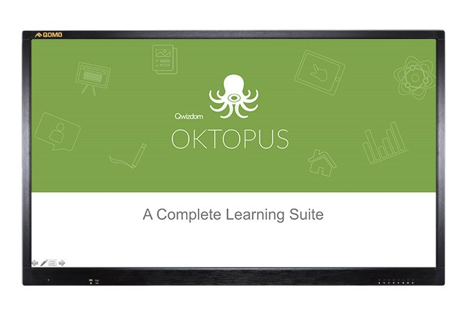 Oktopus is changing teacher&#39;s lives. It is so easy, even your student can teach themselves! @Qwizdom #collaboration #edtech #presentation <br>http://pic.twitter.com/Cer1YKhOTU