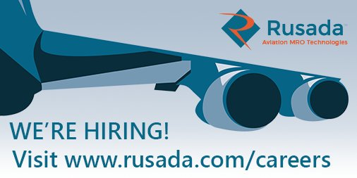 Do you have a passion for #aviation and #technology? So do we! Want to work with us? Visit https://t.co/G8Ltp7Dk6d