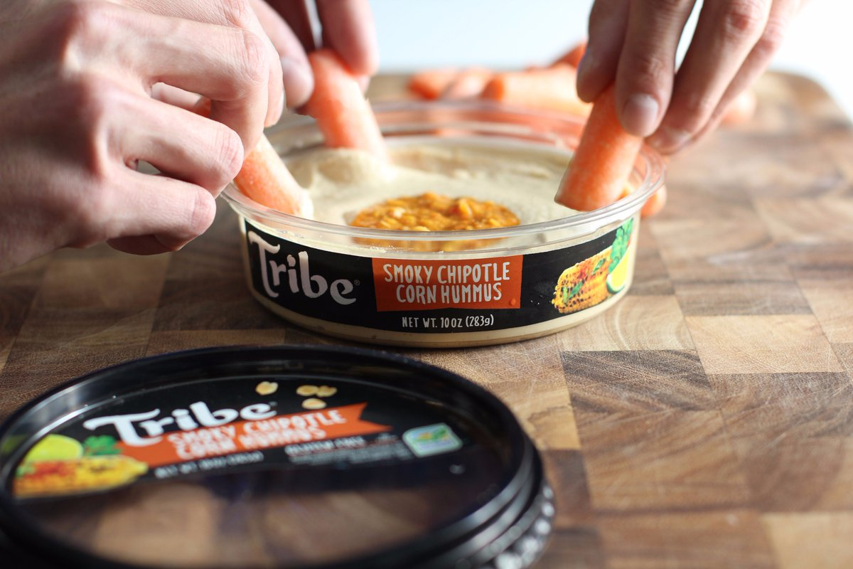 "Tribe Hummus on Twitter: ""The corn-erstone of a good party. https://t.co/iWcMZNj78Q"""