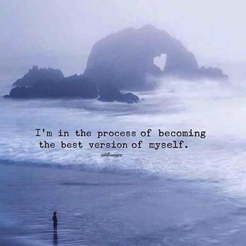 #WednesdayWisdom #wednesdaymotivation I&#39;m in process of becoming the best version of myself #selflove  @RespectYourself @SnowCalmth<br>http://pic.twitter.com/HGT8DMoYlI