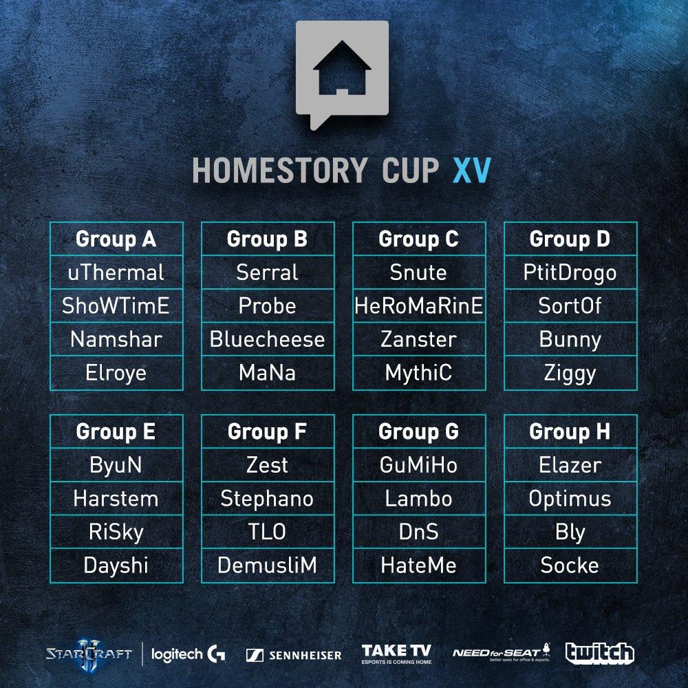 HomeStory Cup XV