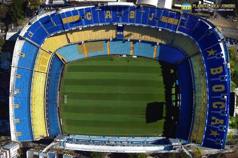 ¿Qué estadio es más lindo? RT Boca y MG River