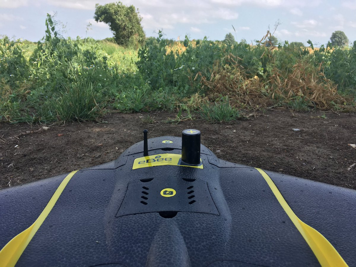 Some of the pilots out maintaining currency and conducting training flights. #uav #sensefly #ebee #fixedwing #training #Surveying #drones<br>http://pic.twitter.com/4JwMVx7Afq