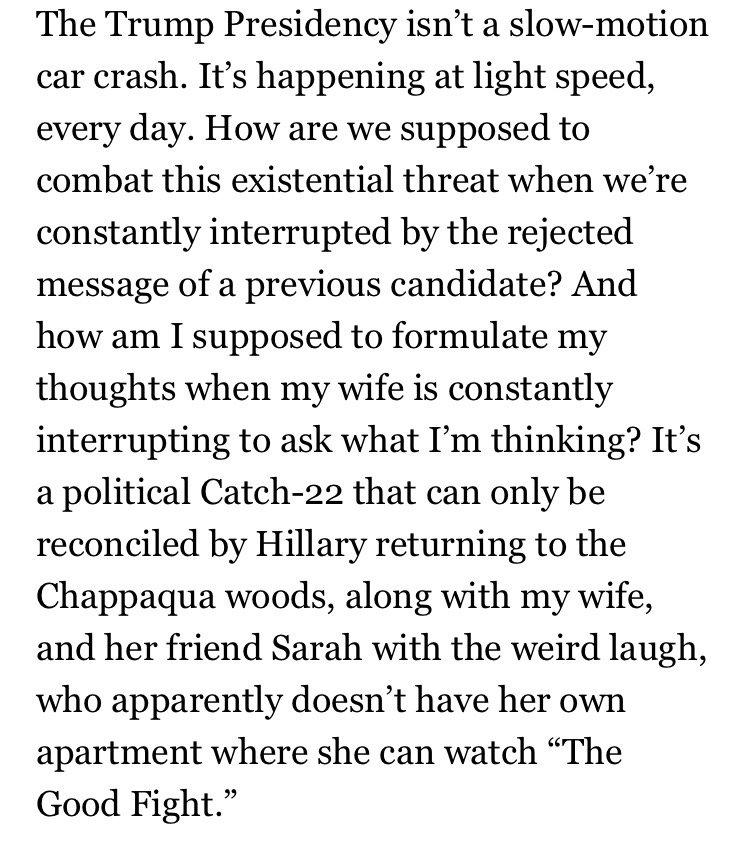 The New Yorker captures the gentle 2017 refrain of the Bernie bros https://t.co/kcIaN4ZtnB