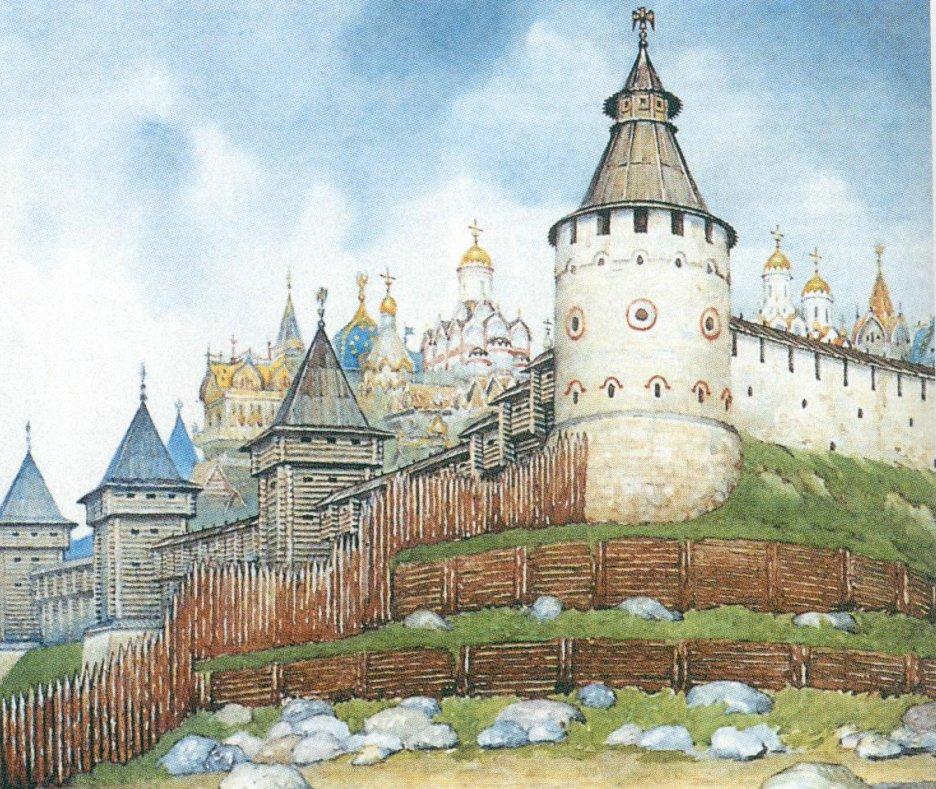 первый кремль картинки