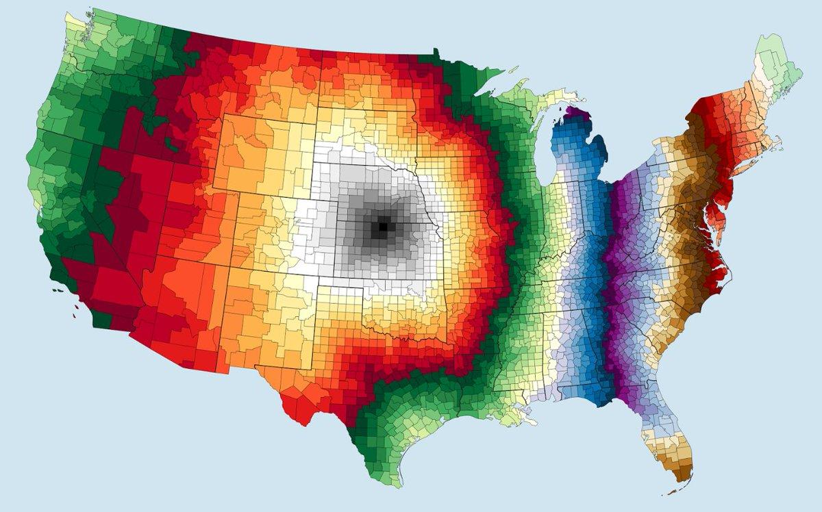 Daniel P Huffman Pinakographos Twitter - Us counties starting with z