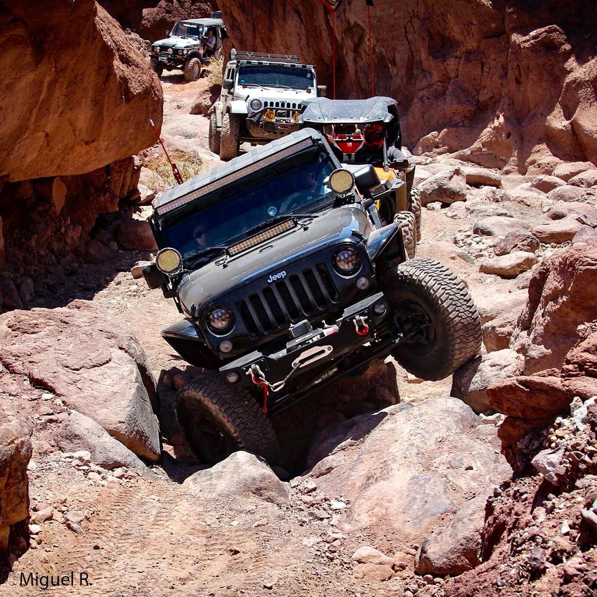 Make your own playground. #Jeep