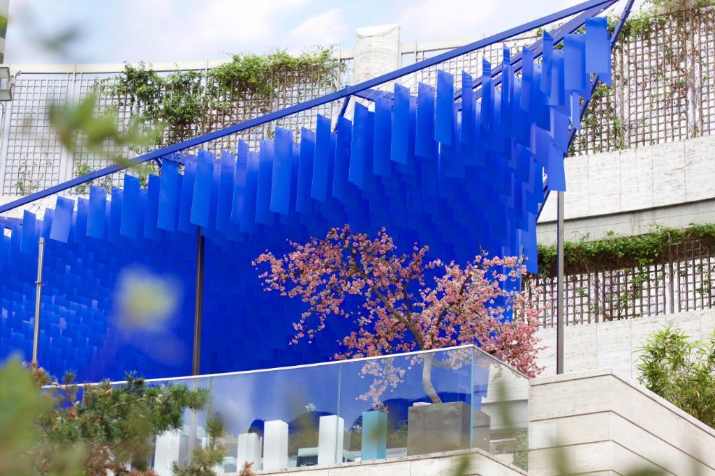 "yauatcha city on twitter: ""#yauatchaterrace. a delicate blue"