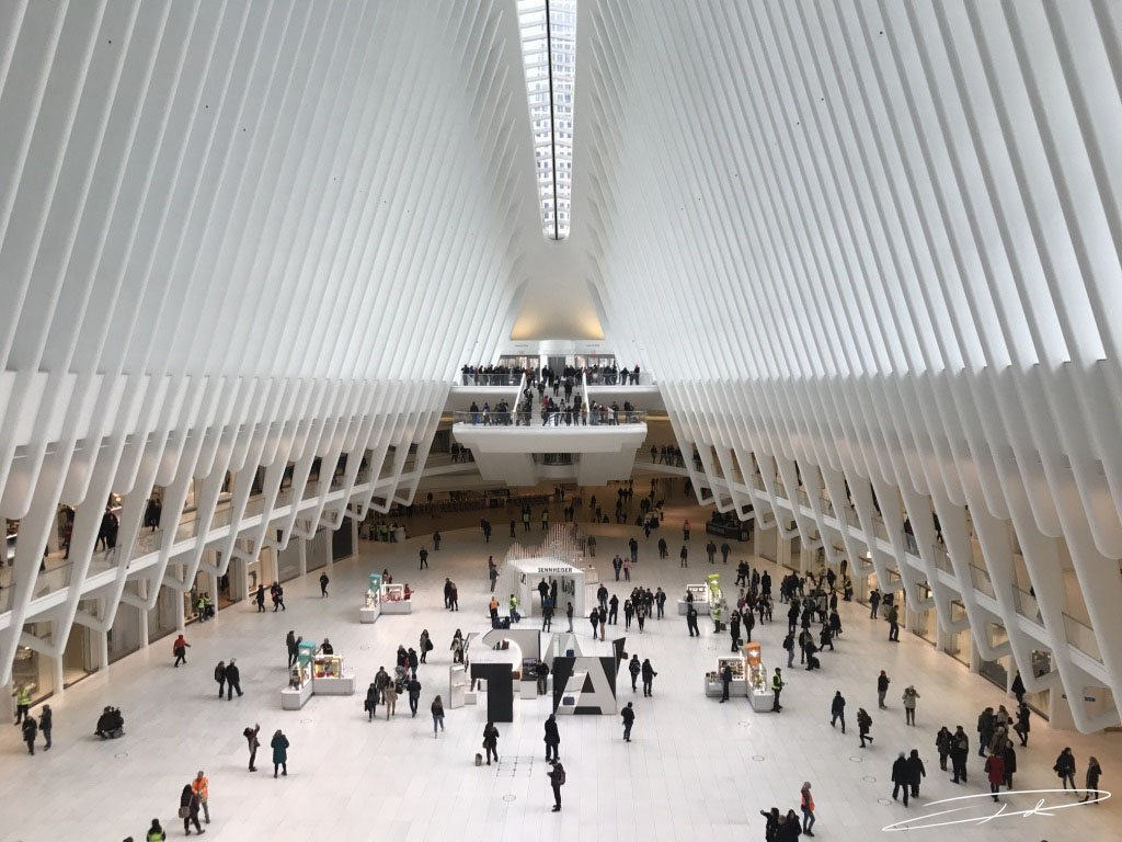 Seems so long ago since I was in the Oculus in New York #takemeback #USA #NewYork