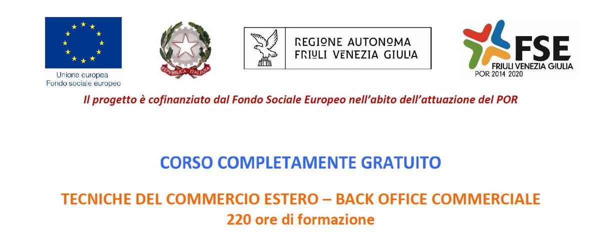 Lavoro Fvg On Twitter Udine Corso Di Formazione Gratuito
