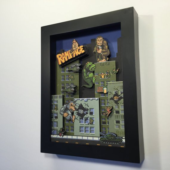 The artful dodger, check out these 3D wall art pictures  #retrogaming #gamersunite #wallart #3Ddesign #gaming #designer #mancave #fanart #RT<br>http://pic.twitter.com/7eO2oq49lX