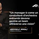 Raffaele Napoli con un'Orchestra in chiave organizzativa a #ADDXV #quote