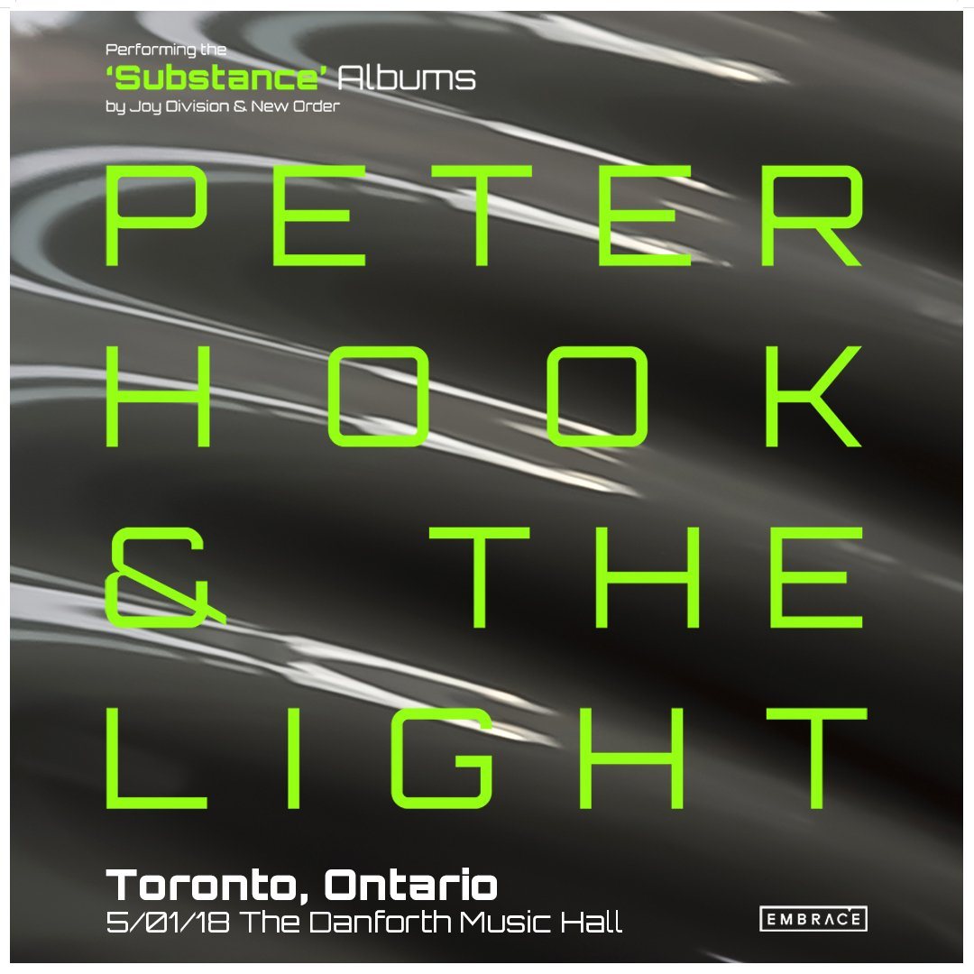 JUST ANNOUNCED: @peterhook & The Light returns on May 1. Tickets o...