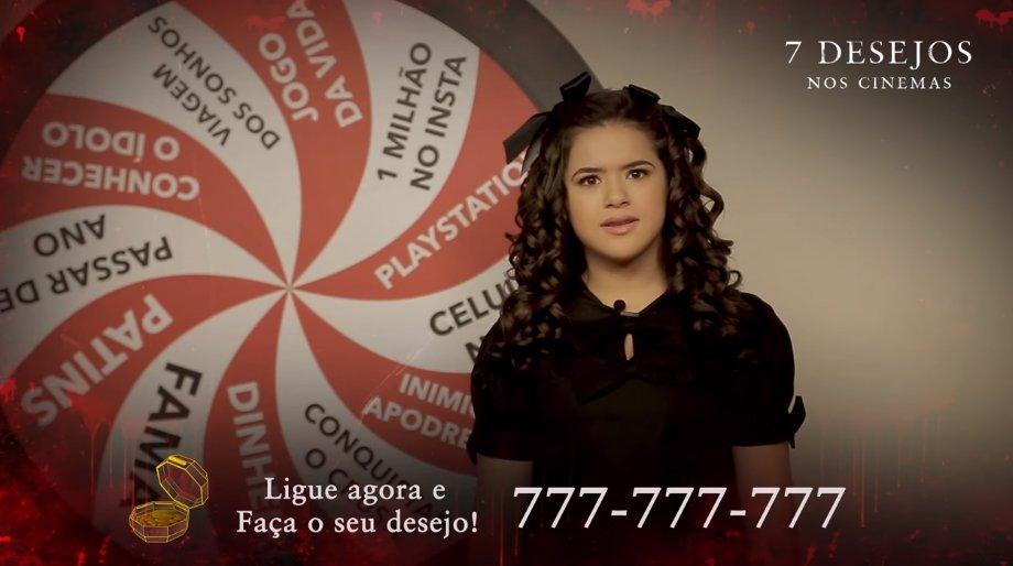 Maisa gira a roleta do Bom Dia e Cia para o terror 7 Desejos https://t.co/LIQ25KGJQU